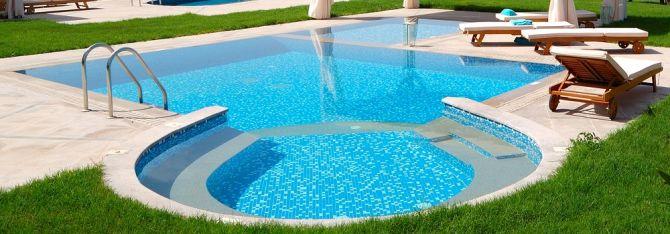 Limpeza piscina