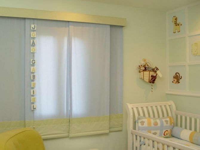Veja 3 opções de cortinas para o quarto do bebê  Blog de Construção Reforma