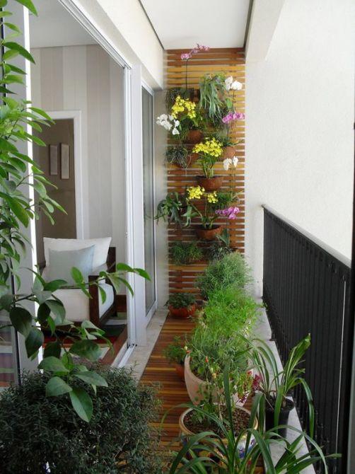 Jardim de inverno vertical pode ser uma opção para espaços pequenos