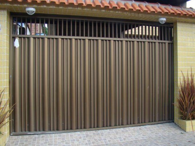 O portão de alumínio possui alta durabilidade