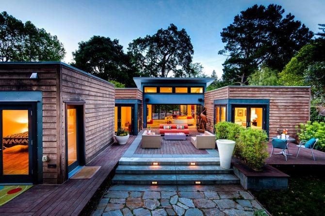 Casa pré-fabricada charmosa